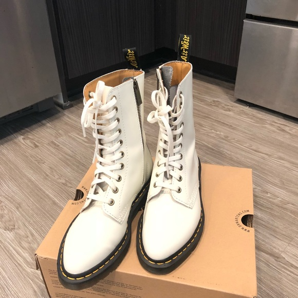 280e10b56b8f Dr. Martens Shoes - Dr. Martens Women s Alix 10 Eye Zip Boot with Box